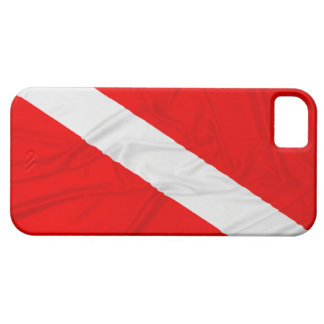 Wrinkled Diver Down Flag iPhone 5 Cover