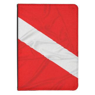 Wrinkled Diver Down Flag Kindle Cover