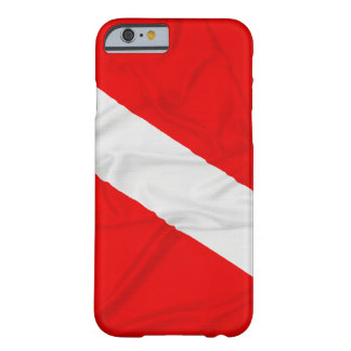 Wrinkled Diver Down Flag Barely There iPhone 6 Case