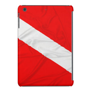 Wrinkled Diver Down Flag iPad Mini Retina Cover