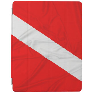 Wrinkled Diver Down Flag iPad Cover