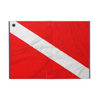 Wrinkled Diver Down Flag iPad Mini Case