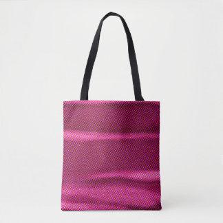 wrinkled effect purple tint tote bag