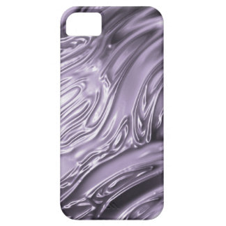 Wrinkled plastic abstract purple digital pattern iPhone 5 cover