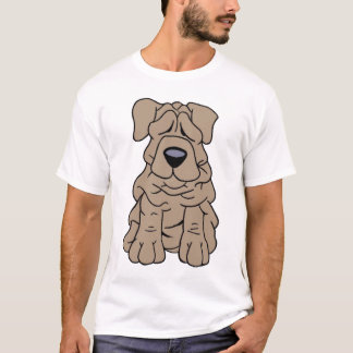 wrinkles dog T-Shirt