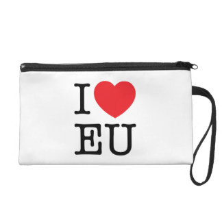 "Wrist bag ""I Heart EU"" Wristlet Purses"