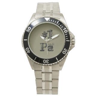 "Wrist watch for ""Pa"""