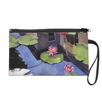 Wristlet, Lilly pads
