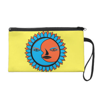 Wristlet MOON SUN REFLECTION