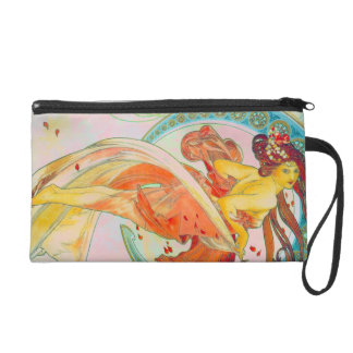 WRISTLET NIGHT OUT ART NOUVOUS PURSE