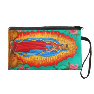 wristlet/ Our Lady of Guadalupe Wristlet Purses