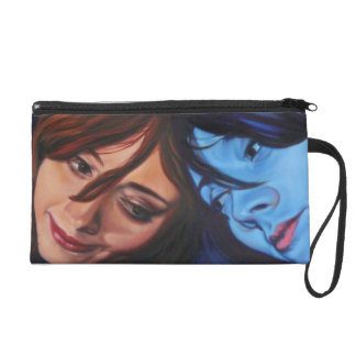 """wristlet, """"Reconciling with Self"""" Design Wristlet"""