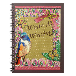 Write A Writing Spiral Notebook