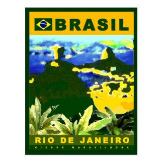 Write about Rio de Janeiro city Postcard