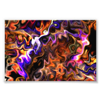 Write Dreams trippy Modern Art 1.9 Photo Print