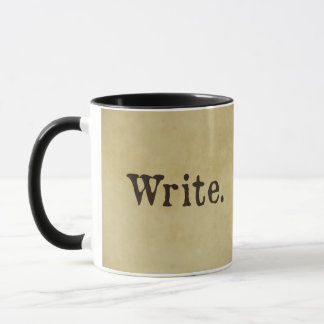 Write Inspirational Mug for Creative Souls By Wing