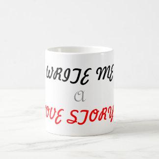 Write me a love story mug