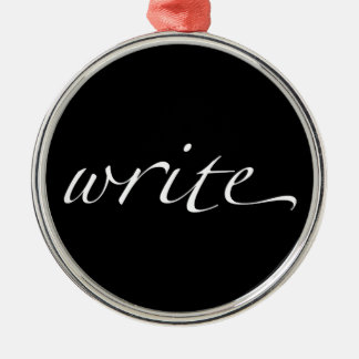 Write Metal Ornament