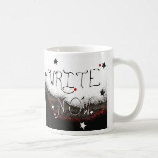 """""""Write Now"""" Light Sky Mug"""