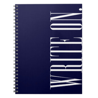Write On (Ver 1) Note Books