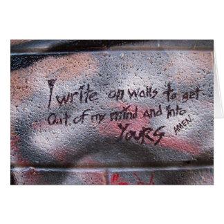 Write On Walls Card