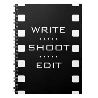 Write, Shoot, Edit - Film Notebook