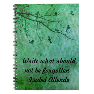 Write What Should Not Be Forgotten Notebook