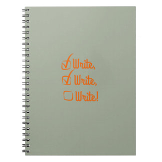 Write, Write, Write! Notebook