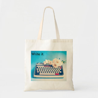 Write your own life's story. tote bag