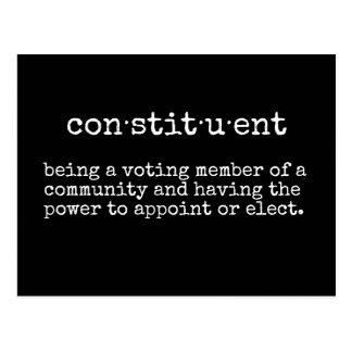 Write Your Representative Constituent Postcard