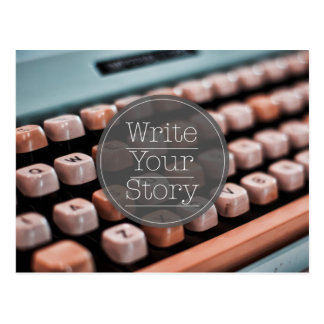 Write Your Story Postcard