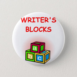 writer 6 cm round badge