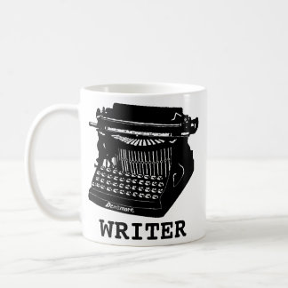Writer Antique Typewriter Coffee Mug