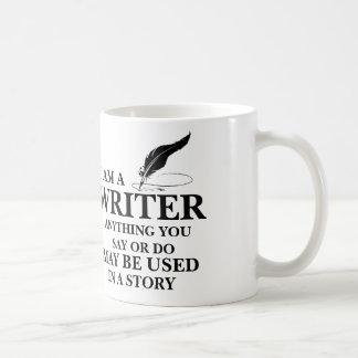 WRITER : anything you say/do may be used in story Basic White Mug