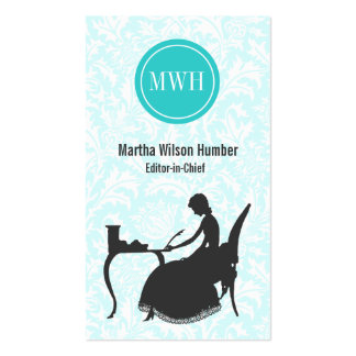 Writer Author Business Card