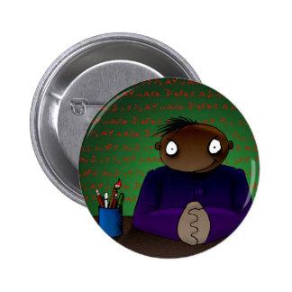 Writer Pinback Button