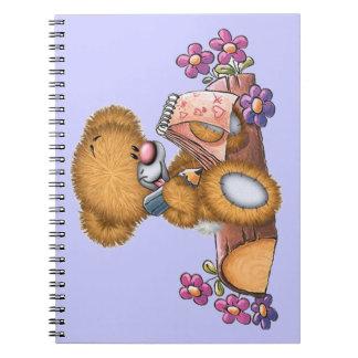 Writer Bear Notebooks
