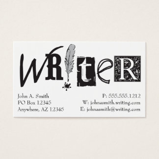 Writer Cards