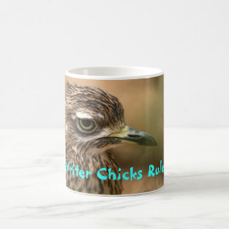 Writer Chicks Rule! Basic White Mug