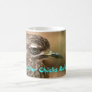 Writer Chicks Rule! Basic White Mug
