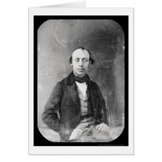 Writer Cornelius Mathews Daguerreotype 1848 Card