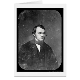 Writer Henry J. Raymond Daguerreotype 1844 Card