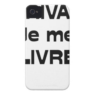 WRITER, I DELIVER MYSELF - Word games Case-Mate iPhone 4 Case