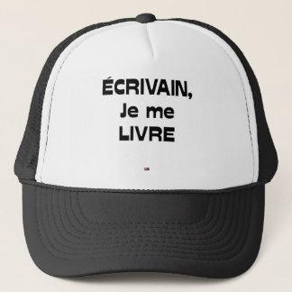 WRITER, I DELIVER MYSELF - Word games Trucker Hat