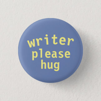 Writer Love 3 Cm Round Badge