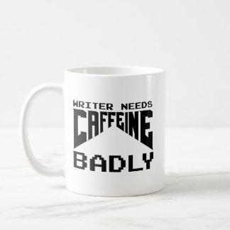 Writer Needs Caffeine Badly Coffee Mug