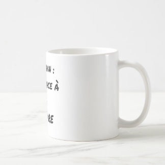 WRITER? ONLY VIS-A-VIS the ERASURE - Word games Coffee Mug