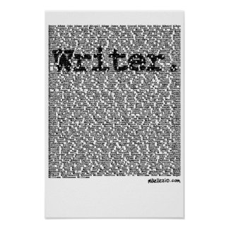 """""""Writer."""" poster"""