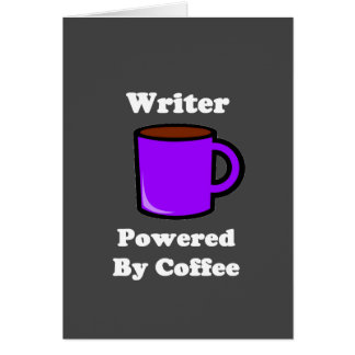 """Writer"" Powered by Coffee Card"