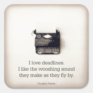 Writer Stickers - Deadlines